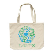 One Planet - Eco Biodegradable Shoulder Bag Natural