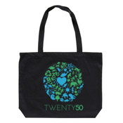 One Planet - Eco Biodegradable Shoulder Bag Black