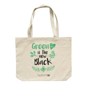 Green Is The New Black - Eco Biodegradable Shoulder Bag Natural