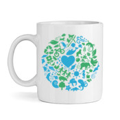 One Planet - White Ceramic Mug