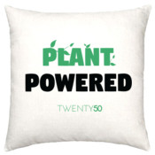 Plant Powered - Linen Cushion Cover 50X50cm